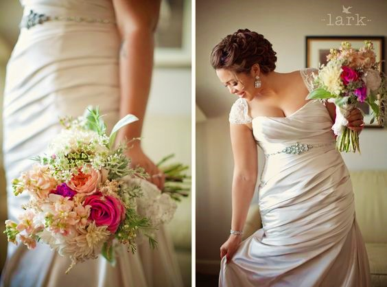 Curvy bride pic- Larks photo credit (2)